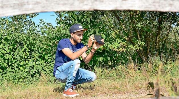 Stimmungen eines Flüchtlings – OP-Vorbericht zur Fotoausstellung von Younes Maroufi