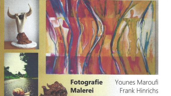 Younes Maroufi stellt in Michelbach aus